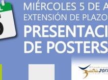 Extensión de plazos para presentación de poster