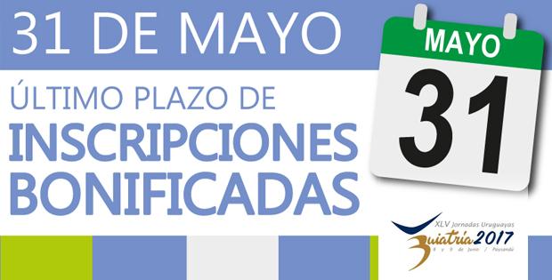 31 de mayo: último plazo de inscripciones bonificadas para Buiatría 2017
